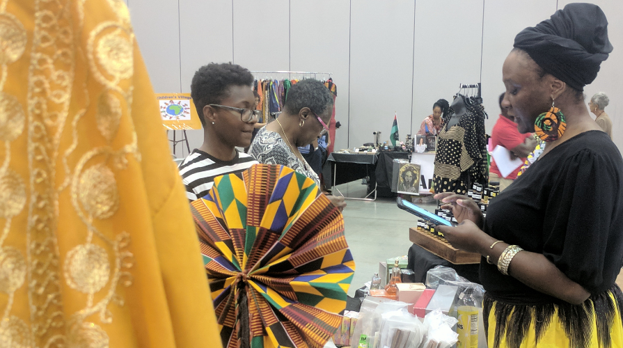 Africa expo in person event