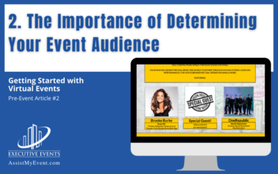 The Importance of Determining Your Event Audience