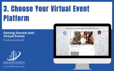 Choose Your Virtual Event Platform